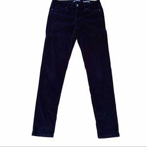 4/$40 - JOE FRESH Black Corduroy Jeans Slim - 26